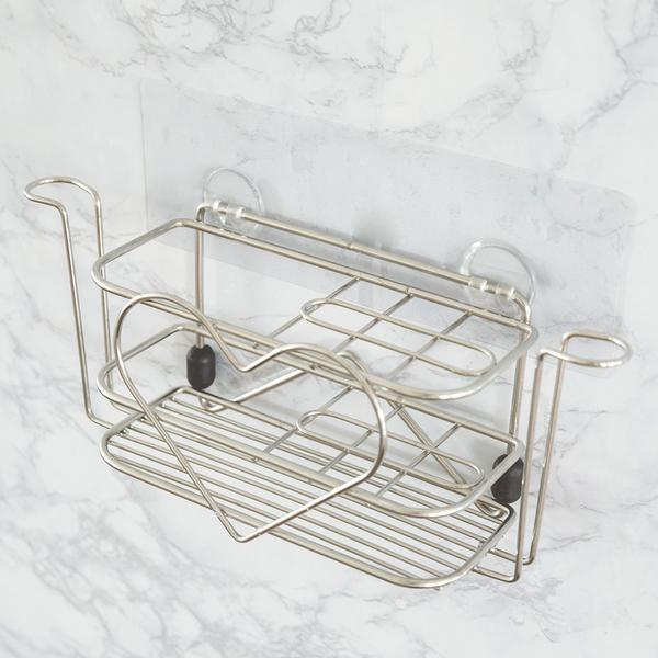 牙刷架 衛浴置物架【C0060】peachylife霧面304不鏽鋼大容量愛心牙刷架 MIT台灣製 完美主義