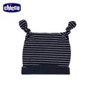 chicco- 親親寶貝-打結嬰兒帽-條紋