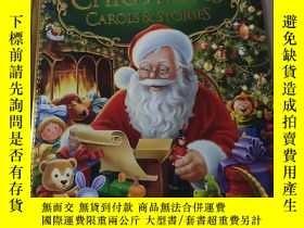 二手書博民逛書店MY罕見TREASURY OF CHRISTMAS CAROLS AND STORIES:我收藏的聖誕頌歌和故事奇