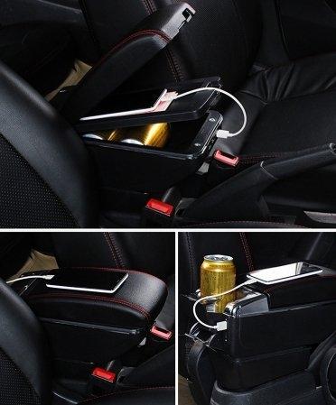 【車王小舖】日產 Nissan TIIDA中央扶手 TIIDA扶手 TIIDA扶手箱 時尚款 升級版 帶7孔USB