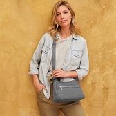 beside u BFYA 多口袋夾層斜肩包側背包 – 灰藍色 原廠公司貨
