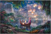 【拼圖總動員 PUZZLE STORY】長髮公主 日系/Beverly/Thomas Kinkade X 迪士尼/1000P
