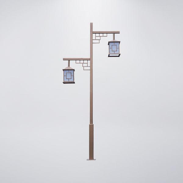 古典風戶外景觀燈 雙燈防水型 可客製化 可搭配LED
