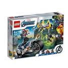76142【LEGO 樂高積木】Marvel 漫威英雄系列 - 復仇者摩托車襲擊