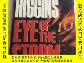 二手書博民逛書店英文原版罕見精裝 The Eye of the StormY25376 JACK HIGGINS BCA 出