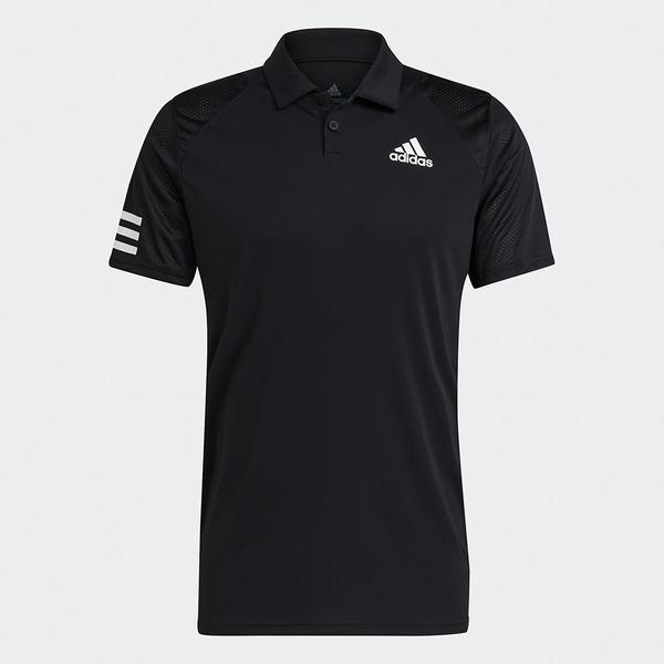 【現貨】Adidas CLUB TENNIS 男裝 短袖 POLO衫 慢跑 訓練 透氣 吸濕排汗 黑【運動世界】GL5421