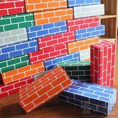 兒童仿真紙磚積木瑞果果幼兒園中大班建構區角游戲玩具diy紙盒