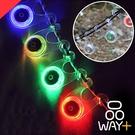 「指定超商299免運」 青蛙燈 露營燈 營繩燈 警示燈 自行車掛燈 掛燈【H043】