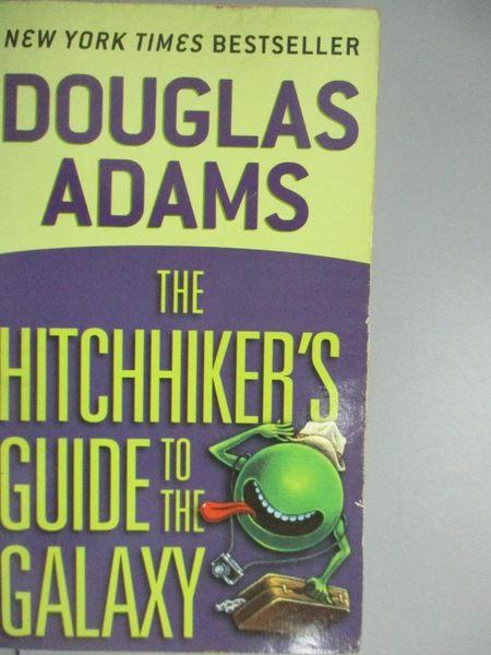 【書寶二手書T2/原文小說_KJG】The Hitchhiker s Guide to the Galaxy (Hitc