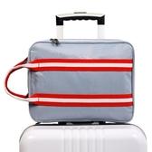 行李包女手提輕便旅行包鞋袋收納包大容量短途韓版單肩可套拉桿箱