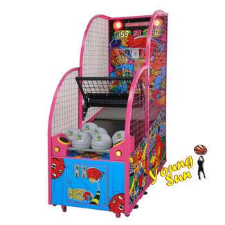 親子型投籃機 投籃機 籃球機 大型遊戲機台 租賃買賣 陽昇國際 農曆年節 元旦 耶誕城