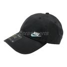 Nike 帽子 NSW H86 Cap 黑 藍 男女款 老帽 棒球帽 【PUMP306】 AO8662-017