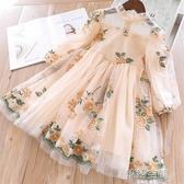 女童洋裝春裝2020新款韓版超洋氣小女孩公主裙夏裝兒童裙子春秋連身裙