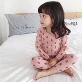 睡衣橘子Baby   男女兒童家居服印花寶寶秋衣褲內衣套裝睡衣韓菲兒