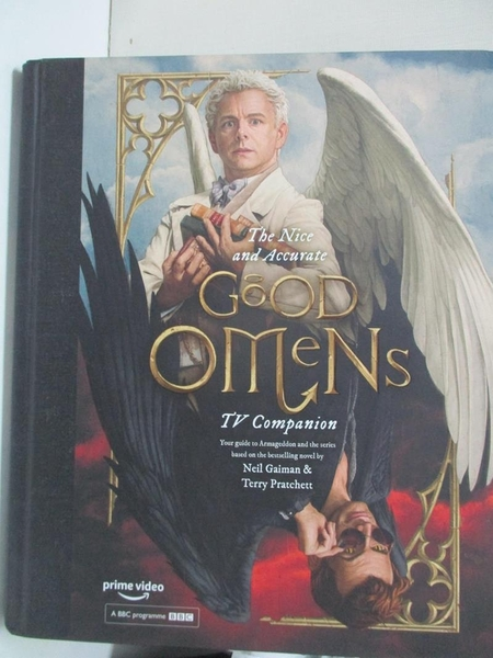 【書寶二手書T1/影視_D7N】The Nice and Accurate Good Omens TV Companion…