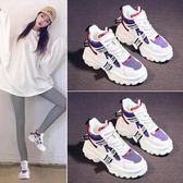 老爹鞋 女新款學生韓版百搭加絨運動鞋超火女鞋-韓先生