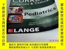 二手書博民逛書店CURRENT罕見Diagnosis and Treatment
