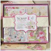《不囉唆》SCRAP KIT精美相冊SR001 回憶/DIY/相片/紀念/相本(可挑色/款)【DYP604006-01】