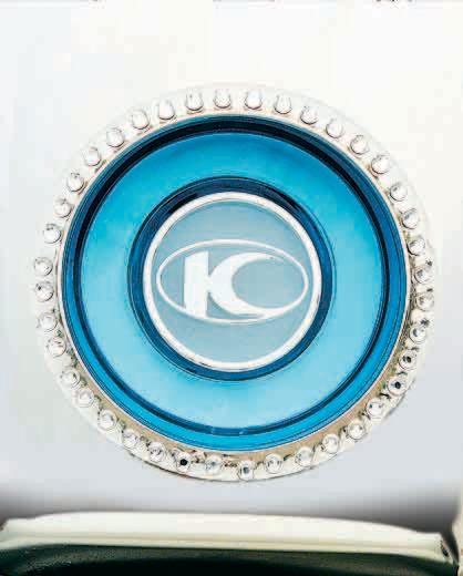 KYMCO光陽機車MANY彩定位燈水鑽條貼紙