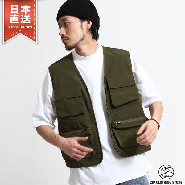 多功能口袋漁夫背心  3色