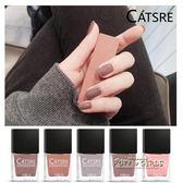 catsre裸色指甲油可剝持久無毒無味可撕拉裸粉色指甲油仙女指甲油