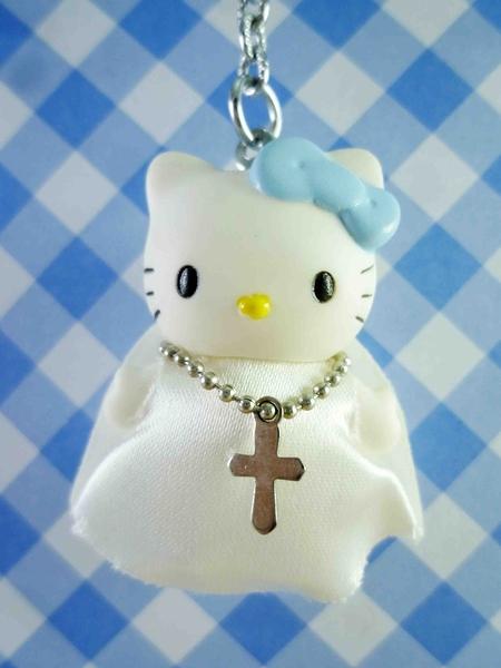 【震撼精品百貨】Hello Kitty 凱蒂貓~KITTY鑰匙圈-Q比人偶-修女