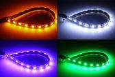 超高亮度 LED 三晶體5050 18P軟燈條 氣氛燈 霸氣燈 日行燈 照明燈 冰藍 超籃 白光