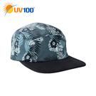 UV100 防曬 抗UV-率性造型五片帽