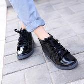 春秋正韓女士水鞋情侶短筒成人雨鞋雨靴男女時尚低幫膠鞋防滑套鞋