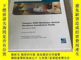 二手書博民逛書店Catalyst罕見3550 MUltilayer Switch Hardware Installation Gu