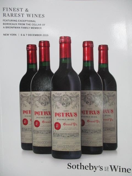 【書寶二手書T1/收藏_ZHD】Sotheby s_Finest & Rarest Wines_2019/12/6-7