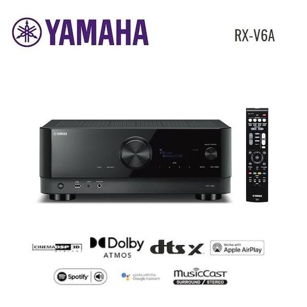 【南紡購物中心】YAMAHA 7.2聲道環繞音效擴大機 RX-V6A