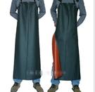 黑復合防水防油圍裙圍腰廚房
