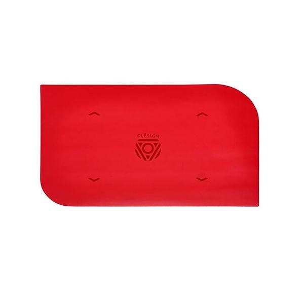 Clesign 瑜珈墊 手墊系列瑜珈墊 - 心動紅 - 4.5mm