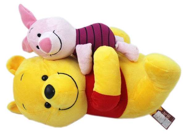 【卡漫城】 維尼熊 小豬 玩偶 32cm ㊣版 Winnie Pooh 絨毛娃娃 布偶 小熊維尼 Piglet 擺飾佈