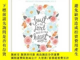 二手書博民逛書店Beauty罕見in the Bible: Adult Colo