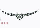 薇嘉雅  橫條超酷紋身貼紙 G024...