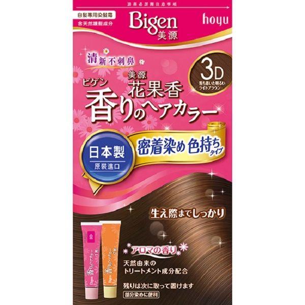 美源花果香快速染髮霜 3D自然淺棕色 (40g+40g)