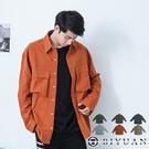 【OBIYUAN】工裝 長袖襯衫 專櫃絲綢 寬鬆 襯衫外套 共6色【X69118】