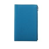 【HERMES】牛頭人身圖案拉鏈多功能護照夾(藍色) HE27000003