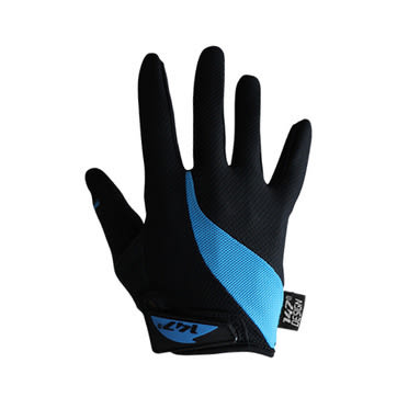 147 Design DRAFTING BLACK/BLUE 自行車全指手套男女通用