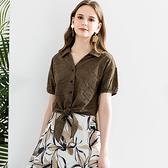 IENA 2021 Summer #1275010 棉質蕾絲繡花綁帶襯衫