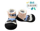 BabyPark 韓國BigToes幼兒襪型學步鞋-灰色浣熊 襪鞋 韓國製造,三種尺寸可選擇