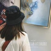 簡約帽子漁夫帽港風街拍日系休閑女純色百搭韓國盆帽女韓版遮陽男-大小姐風韓館