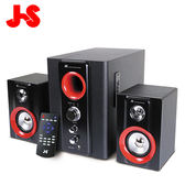 【JS】JY3064 2.1 聲道 全木質藍牙喇叭