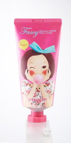 FASCY甜心香芬滋潤護手霜-草莓甜心(80ml)
