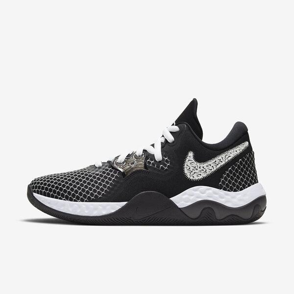 Nike Renew Elevate Ii [CW3406-004] 男鞋 運動 休閒 籃球鞋 穩定 支撐 緩震 黑 白