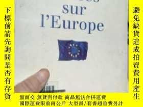 二手書博民逛書店Regards罕見croises sur l E UROPEY1