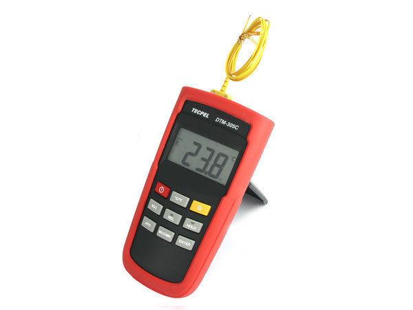 泰菱電子◆0.1%高精確度溫度計 溫度表 測溫器DTM-305C TECPEL
