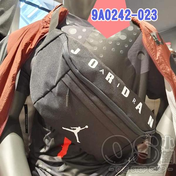 NIKE Air Jordan Crossbody 大腰包 9A0242-023 黑色 | OS小舖